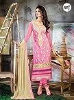 Pink Georgette Pakistani Suit - LFSUMAHF40008