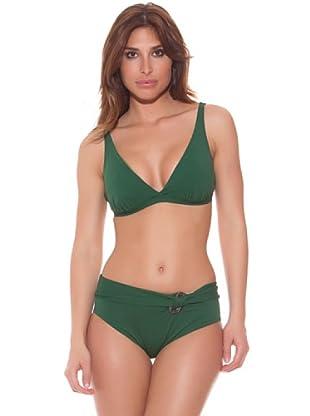 Ana Durán Bikini Tierra (Grün)