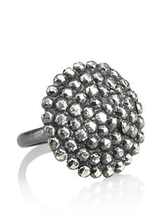 Himatsingka Buckle Sterling Silver Ring