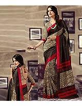 Black Colour Silkosa Sarees : Crown Collection - YF-14431