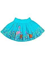 Oye Girls Skirt - Aqua Blue (4-5Y)