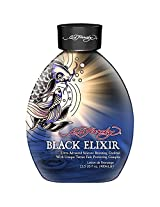 Ed Hardy Black Elixir Silicone Bronzer Tattoo Fade Protection Tanning Lotion 13.5 Oz 2012
