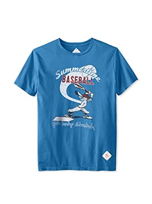 7th Inning Stretch Men's Summertime T-Shirt (Royal)