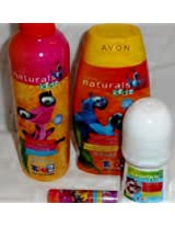 Avon ~ Naturals Kids ~ Rio 2 Gift Set ~ 4 PC Collection
