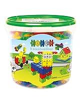 Clics,Bucket 175 pieces(Multi)