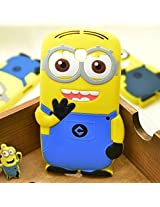 AE 3D Cute Cartoon Despicable Me Minion Back Case cover For Apple iPhone 5 / 5S by AE MOBILE ACCESSORIES