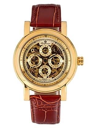 Burgmeister Alexandria BM129-275 - Reloj unisex automático, correa de piel color marrón