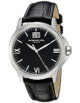 Raymond Weil Men's 5476-ST-00207 Analog Display Quartz Black Watch