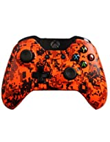 Modded Xbox One Controller Special Edition Orange Urban With Rapid Fire, Drop Shot And More Mods For Call Of Duty: Ghosts And Battlefield 4