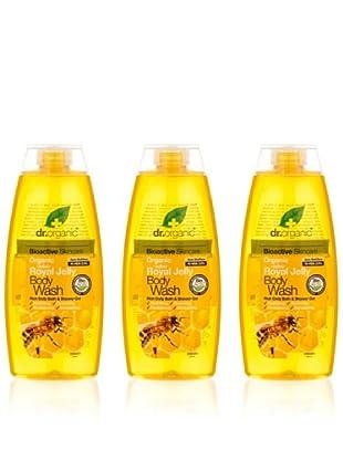Dr.Organic Set 3 Gel de Baño de Miel 250 Ml (u)