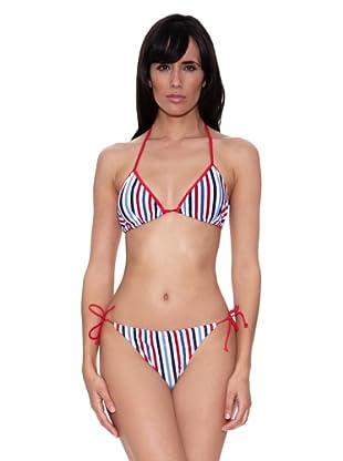 Bikini Jessica (Rojo / Azul)