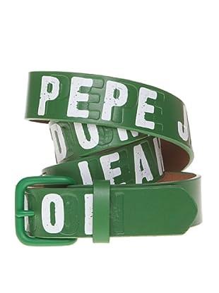 Pepe Jeans London Cinturón Bue (Verde)