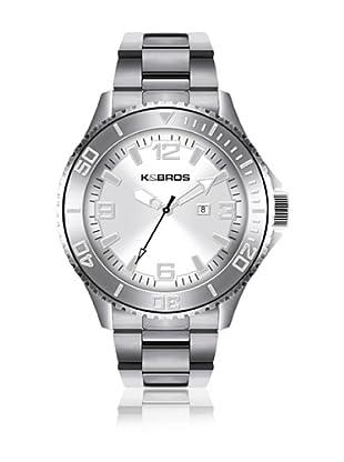 K&BROS Reloj 9564 (Plateado)