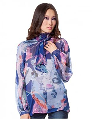 Custo Barcelona Bluse Carry (Blau)