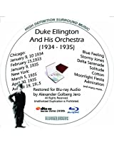 Duke Ellington And His Famouse Orchestra (1934-1935) Restored for Blu-ray Audio Featuring Audio Only and Video Disc Produced with Short Films by Charly Chaplin