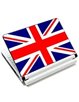 Meffort Inc 15 15.6 inch Laptop Skin Sticker Cover Art Decal Fits 13.3 14 15 16 Notebook PC (Free 2 Wrist Pad) - England Flag Design