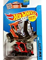 HOT WHEELS HW CITY SHOWDOWN SCAN & RACE! RED TEED OFF 2 68/250