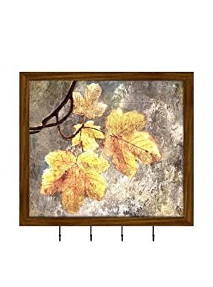 PTM Images Sycamore Leaves Key/Jewelry Organizer, Natural