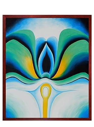 Georgia O'Keeffe: Blue Flowers