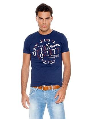 Pepe Jeans London Camiseta Sos (Azul)