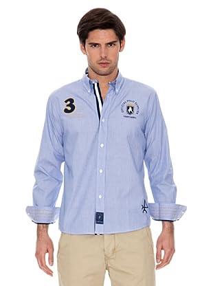 Valecuatro Camisa Parche (Azul)