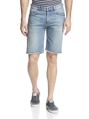 GANT Rugger Men's Stick Boy Well Done Denim Shorts (Light Indigo)
