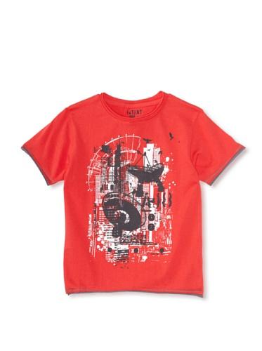 iNTAKT Boy's Satellite City Tee (Red)