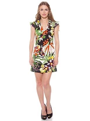 Divina Providencia Vestido Tropical (Multicolor)