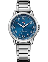 Tommy Hilfiger Casey Analog Display Japanese Quartz Blue Dial Women's Watch - TH1781655J