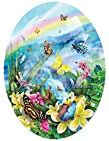 Butterfly Visions A 600 Piece Jigsaw Puzzle By Sunsout Inc. By Suns Out