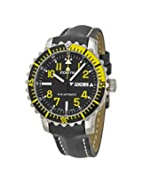 Fortis Marinemaster Automatic Black Dial Black Leather Men's Watch (670.24.14 L01)