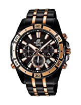 Casio Edifice EFR-534BKG-1AVDF (EX174) Men's Chronograph Watch