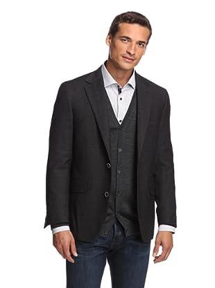 Ibiza Men's Corato Sport Coat (Black)