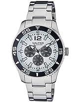 Nautica Analog White Dial Men's Watch - NTA15657G