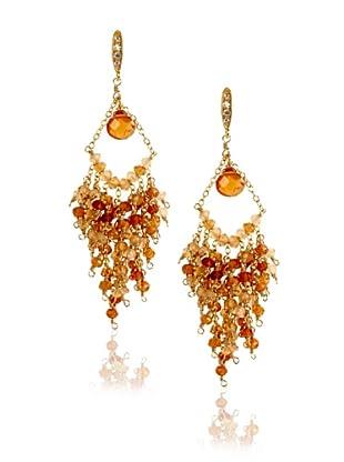 Leslie Danzis Gold Chandelier Earrings