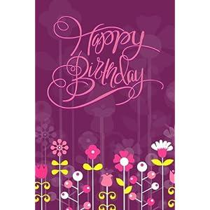 GreetZAP Birthday Vibrant Voice Greeting Card