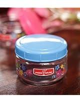 Princeware Julia Pet Jar 130 ML Blue Set of 3