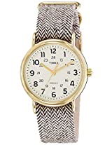 Timex Weekender Analog Off-White Dial Unisex Watch - TW2P71900