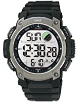 Q&Q Standard Dual Time Digital White Dial Men's Watch M119J002Y