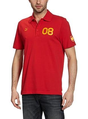 Puma Polo T-Shirt Football Archives T7 (team regal red-spain)