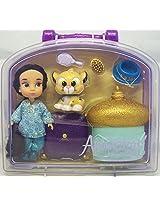 Disney Animators Collection Jasmine Mini Doll Playset