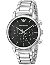 Armani Chronograph Black Dial Men's Watch - AR1853