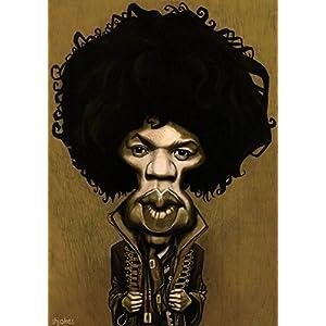 Shijokes Jimi Hendrix Caricature