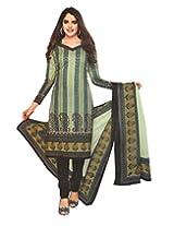 JAVULI pure cotton salwar suit dress material : 205new