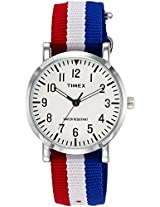 Timex OMG Analog White Dial Unisex Watch - TWEG15407