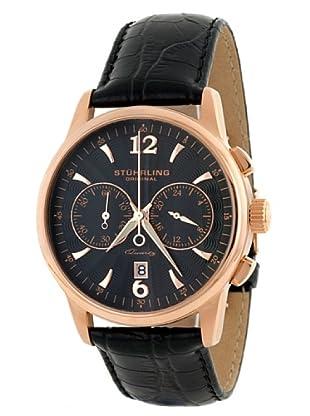 STÜRLING ORIGINAL 186L.33451 - Reloj de Caballero movimiento de cuarzo con correa de piel