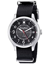 Tommy Bahama  Men's 10018348 Island Scout Analog Display Japanese Quartz Black Watch