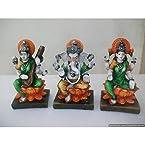 Mebelkart Laxmi Ganesh Saraswati Idols