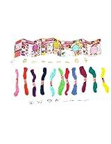 WeGlow International Style Me Up Charm Heart-Lock Bracelets