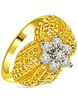Surat Diamond 18K Yellow Gold Diamond Ring